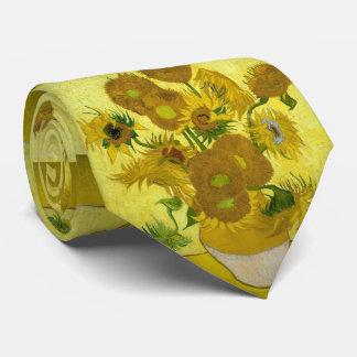 Van Gogh Sunflowers Tie