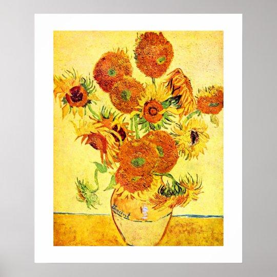 Van Gogh SunflowersFine Art Print 20x24