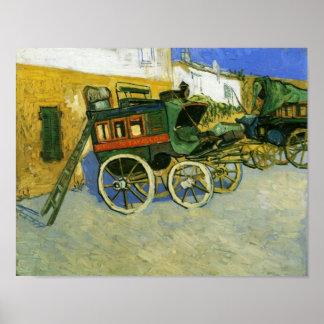 Van Gogh Tarascon Diligence Poster