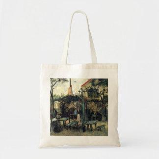 Van Gogh Terrace of a Cafe on Montmartre, Fine Art Budget Tote Bag