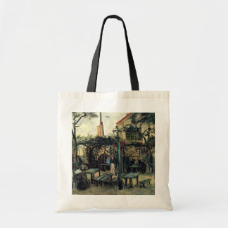 Van Gogh Terrace of a Cafe on Montmartre, Fine Art Budget Tote Bag