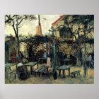 Van Gogh Terrace of a Cafe on Montmartre, Fine Art Poster