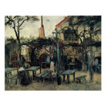 Van Gogh - Terrace of a Cafe on Montmartre Poster
