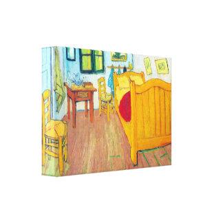 Van Gogh - The bedroom in Arles Saint-Remy Canvas Prints