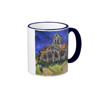 Van Gogh - The Church at Auvers Ringer Mug