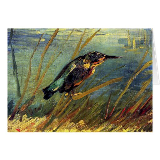 Van Gogh The Kingfisher Greeting Card