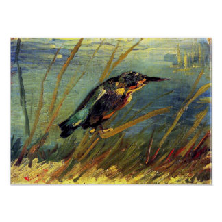Van Gogh - The Kingfisher Poster