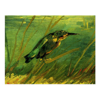 Van Gogh The Kingfisher, Vintage Impressionism Art Postcard