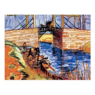 Van Gogh - The Langlois Bridge At Arles Postcard