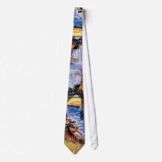 Van Gogh - The Langlois Bridge At Arles Tie