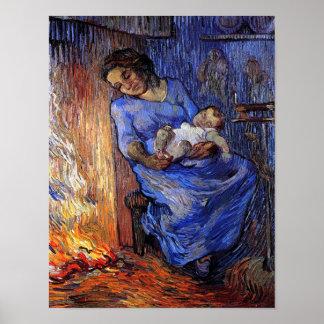 Van Gogh The Man Is At Sea Poster