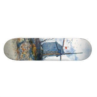 Van Gogh: The Mill of Galette Skate Board Decks