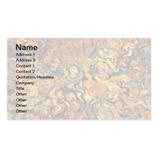 Van Gogh - The Mulberry Tree Pack Of Standard Business Cards