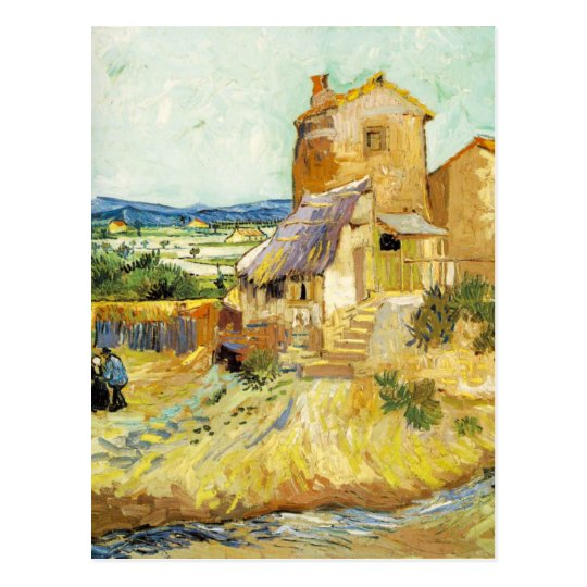 van Gogh - The Old Mill (1888) Postcard