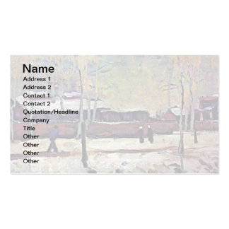 Van Gogh - The Old Station At Eindhoven Pack Of Standard Business Cards