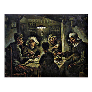 Van Gogh - The Potato Eaters Postcard
