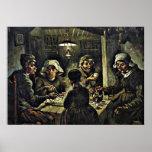 Van Gogh - The Potato Eaters Poster