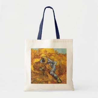 Van Gogh, The Sheaf Binder, Vintage Impressionism