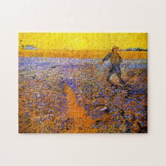 Van Gogh: The Sower Jigsaw Puzzle
