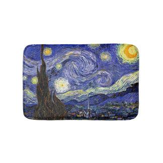 Van Gogh - The Starry Night Bath Mats