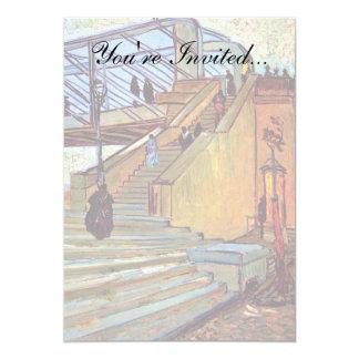 """Van Gogh - The Trinquetaille Bridge 5"""" X 7"""" Invitation Card"""