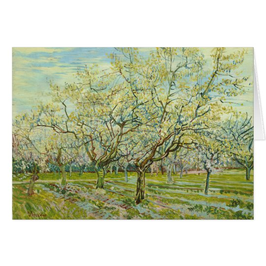 Van Gogh The White Orchard Card