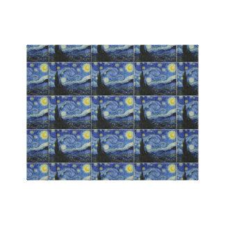 Van Gogh tiled Print Canvas