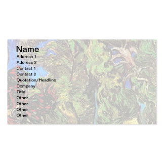 Van Gogh - Trees In The Garden of St Paul Hospital Pack Of Standard Business Cards
