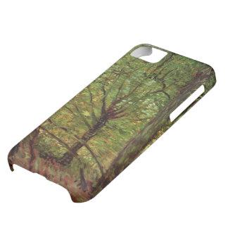 Van Gogh Trees Undergrowth, Vintage Impressionism iPhone 5C Case