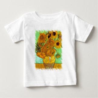 Van Gogh - Twelve Sunflowers Baby T-Shirt