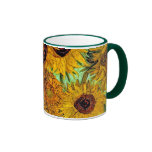 Van Gogh - Twelve Sunflowers Ringer Mug