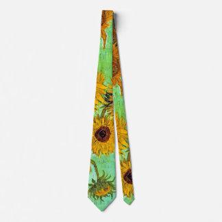 Van Gogh - Twelve Sunflowers Tie