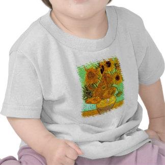 Van Gogh - Twelve Sunflowers T Shirt
