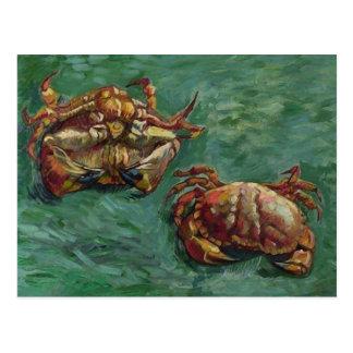 Van Gogh Two Crabs (F606) Fine Art Postcard