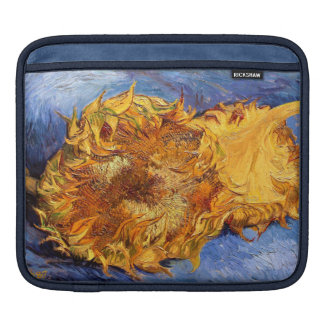 Van Gogh: Two cut Sunflowers iPad Sleeve