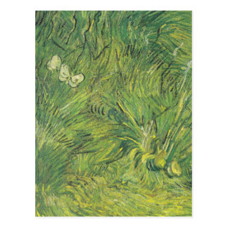 Van Gogh | Two White Butterflies Postcard