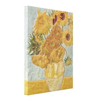 Van Gogh - Vase Twelve Sunflowers Canvas Print
