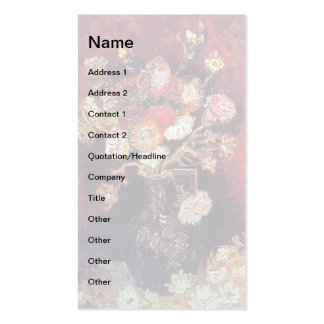 Van Gogh - Vase With Asters And Phlox Pack Of Standard Business Cards