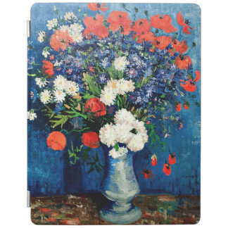 Van Gogh - Vase with Cornflowers and Poppies iPad Cover