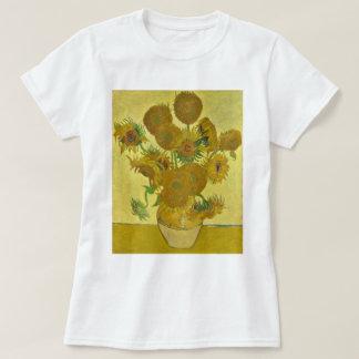 Van Gogh Vase with Fifteen Sunflowers GalleryHD T-Shirt