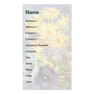Van Gogh - Vase With Lilacs, Daisies And Anemones Pack Of Standard Business Cards