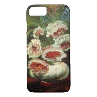 Van Gogh Vase with Peonies, Vintage Fine Art iPhone 8/7 Case