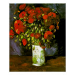 Van Gogh Vase With Red Poppies (F279)
