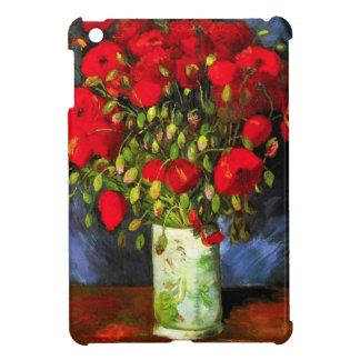 Van Gogh Vase With Red Poppies iPad Mini Case