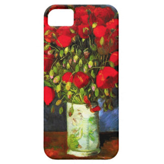 Van Gogh Vase With Red Poppies iPhone Case