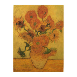 Van Gogh Vase with Sunflowers, Fine Art Flowers