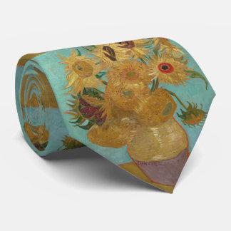 Van Gogh Vase with Twelve Sunflowers Tie