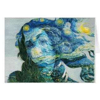 Van Gogh Venus Card