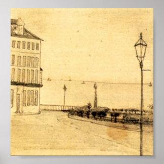 Van Gogh - View of Royal Road, Ramsgate Poster