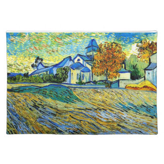 Van Gogh - View of the Church of Saint Paul Placemat